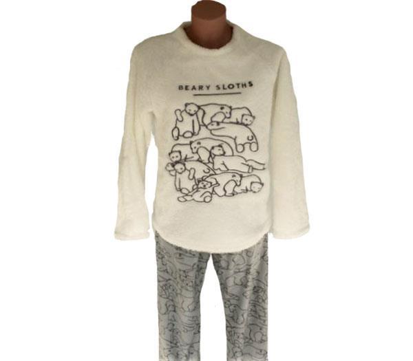 c40e3881a Pijama mujer invierno coralina Pettrus - Comercial Lizarra